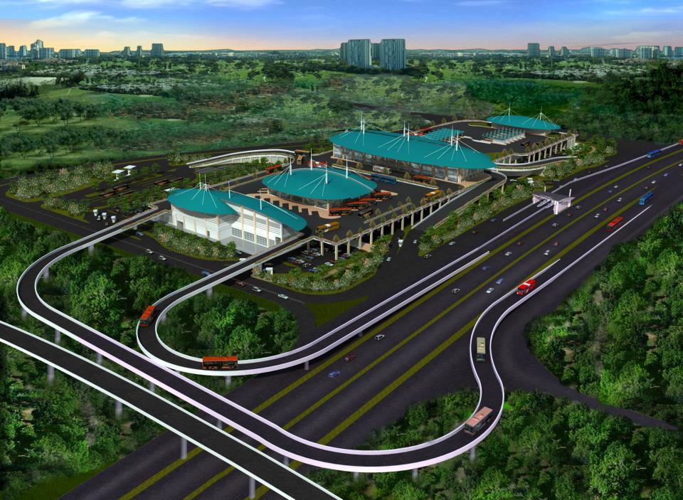 Pulogebang Bus Station & Mall 1