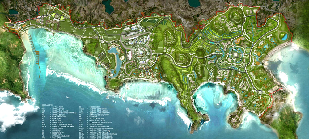 The Mandalika Master Plan